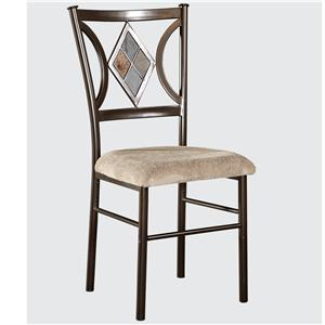 Presley Dining Side Chair with Upholstered Seat