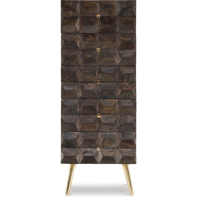 Quinn Five-Drawer Cabinet by Powell at Bullard Furniture