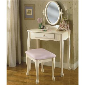 Powell Vanities  3 Piece Youth Vanity Set