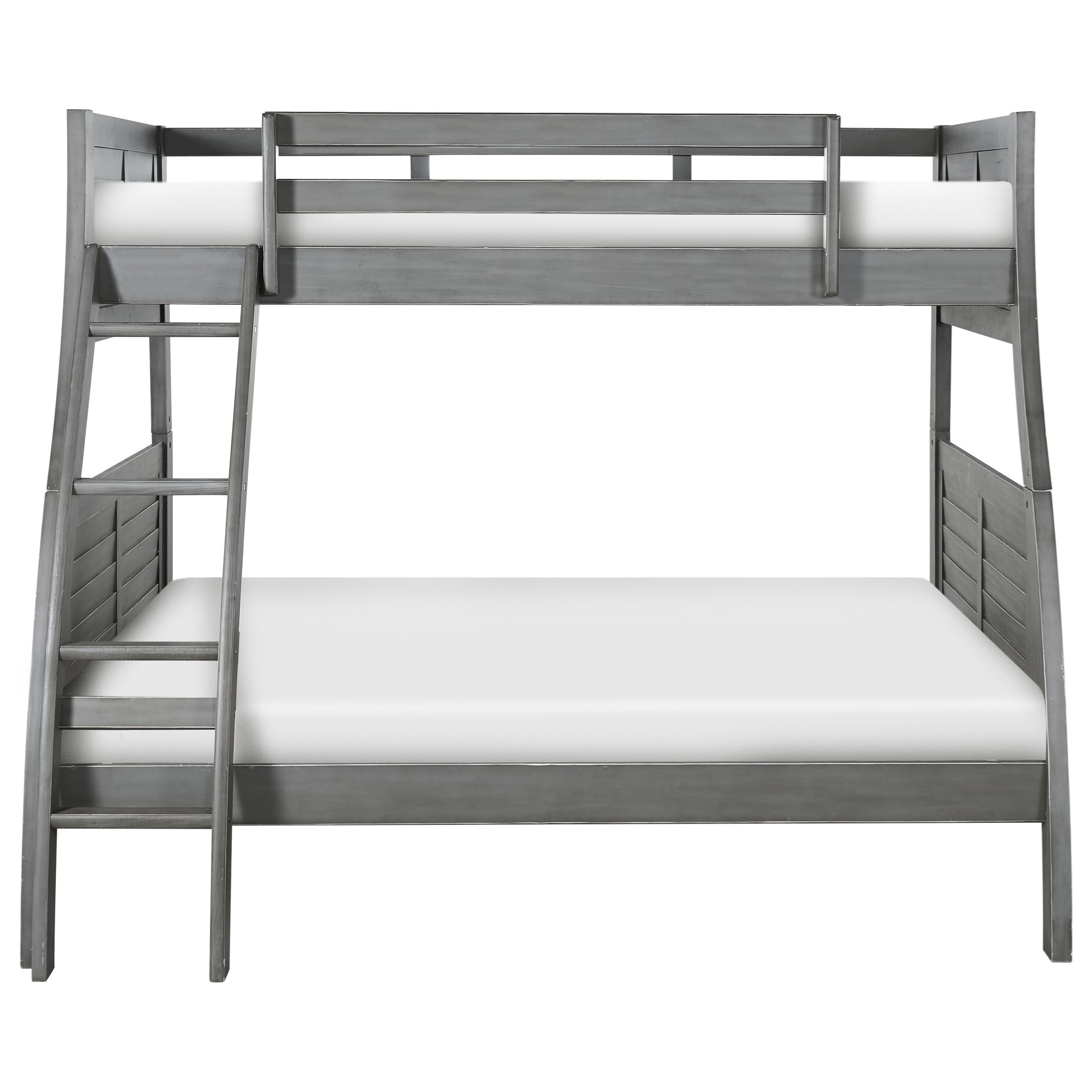 Youth Beds and Bunks Twin/Full Bunk Bed by Powell at HomeWorld Furniture