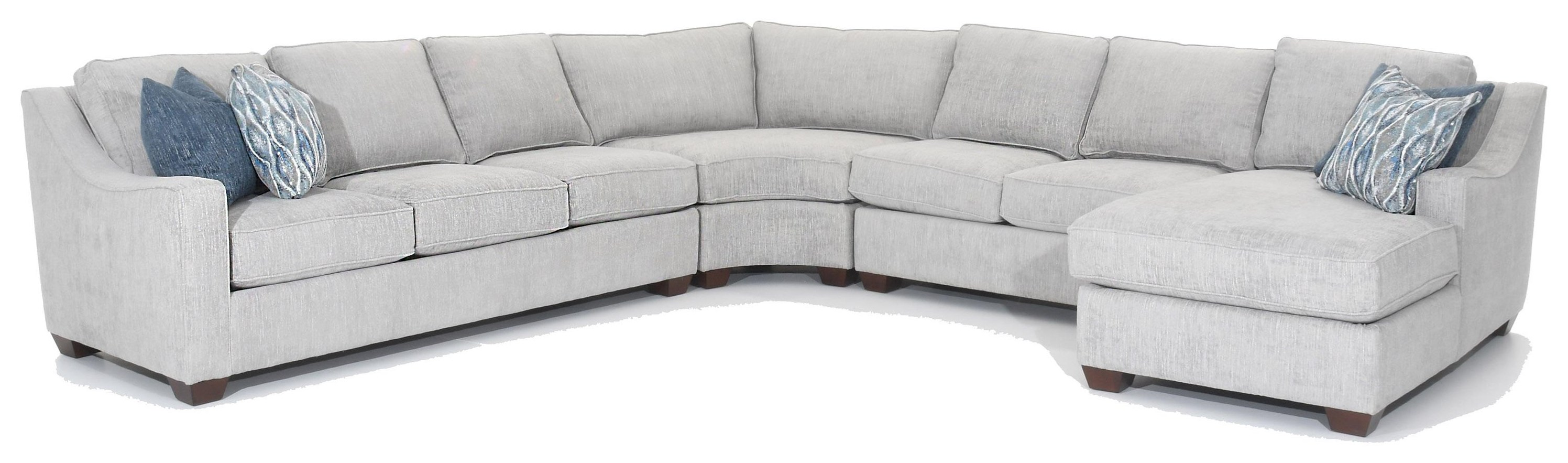 Multiple Choices 4 Pc Sectional by Precedent at Baer's Furniture