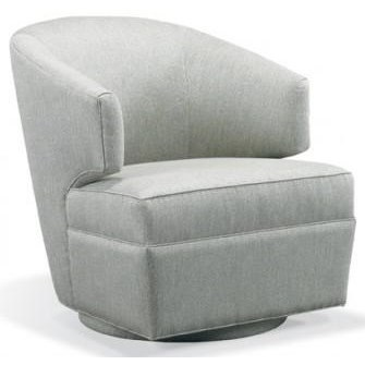 Sherman Swivel Chair by Precedent at Alison Craig Home Furnishings