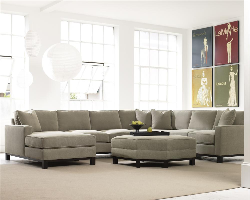 Urban Planning 4 Piece Sectional by Precedent at Baer's Furniture