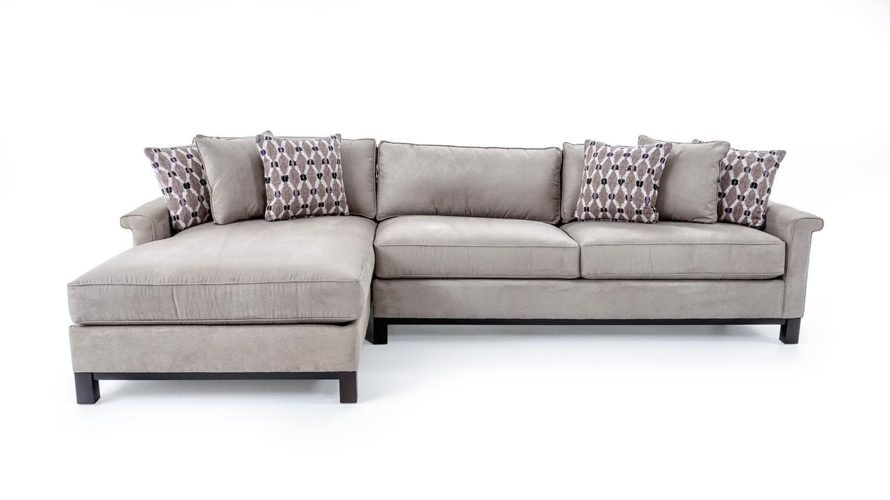Urban Planning Customizable 2 Pc Sectional Sofa by Precedent at Baer's Furniture