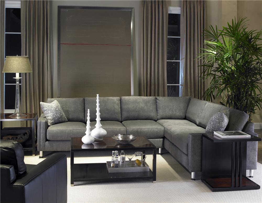 Urban Planning 2 Piece Sectional by Precedent at Baer's Furniture