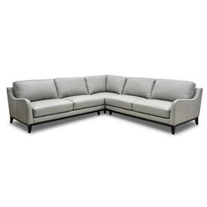 3PC Leather Sectional