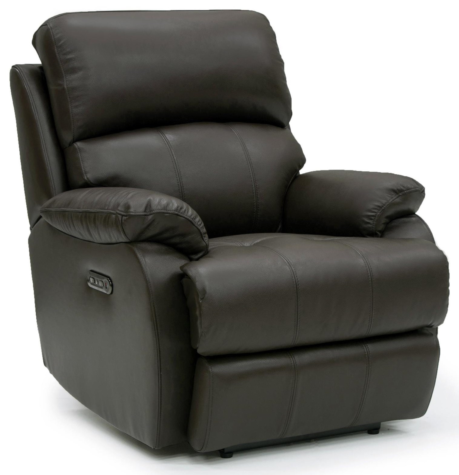Jacksonville Leather Power Leather Recliner at Rotmans