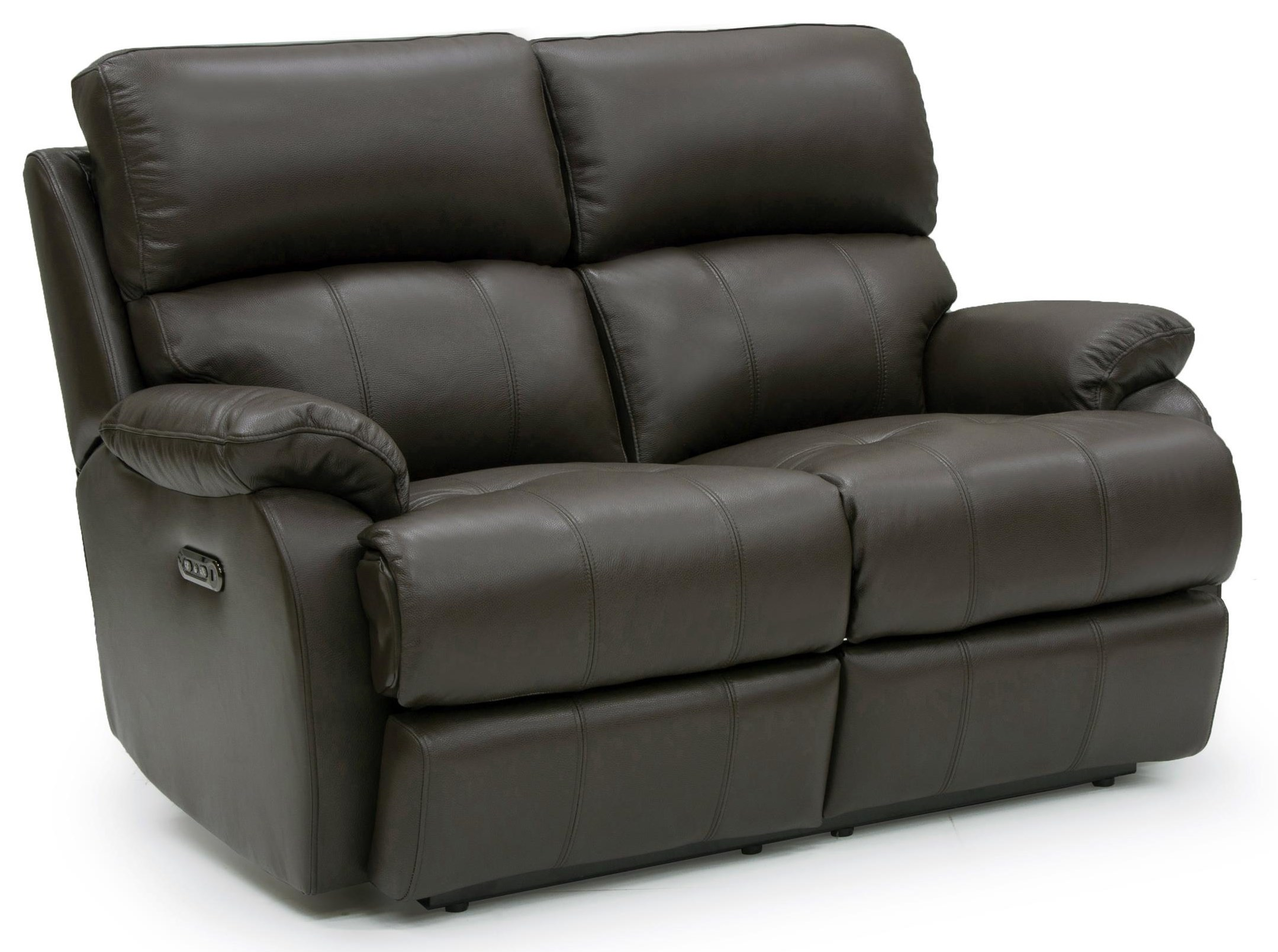 Jacksonville Power Reclining Leather Loveseat at Rotmans