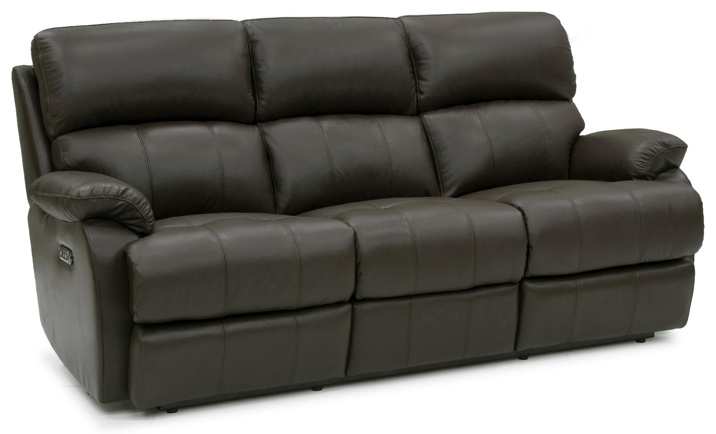 Jacksonville Power Reclining Leather Sofa at Rotmans