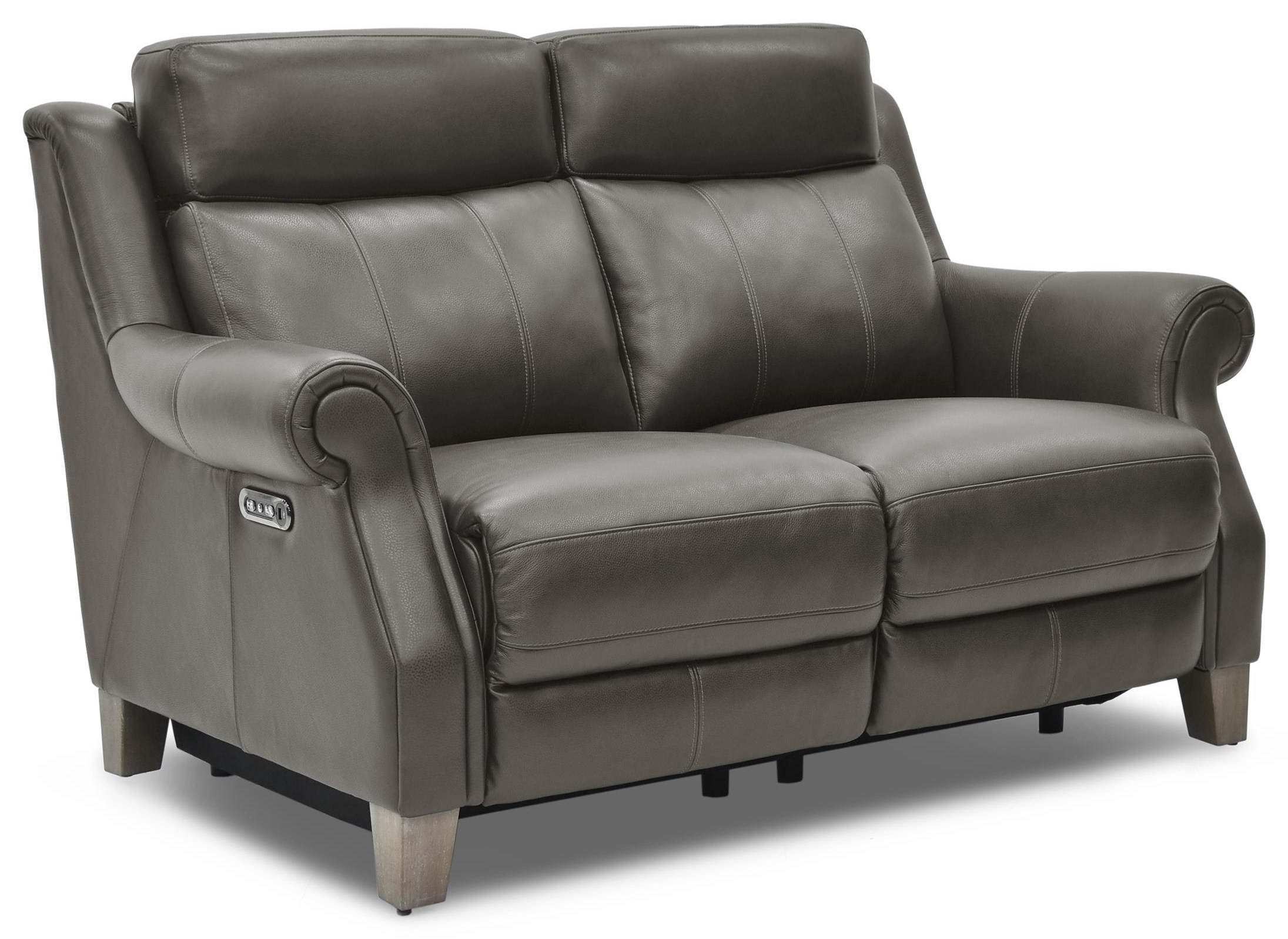 Via Power Reclining Leather Loveseat at Rotmans