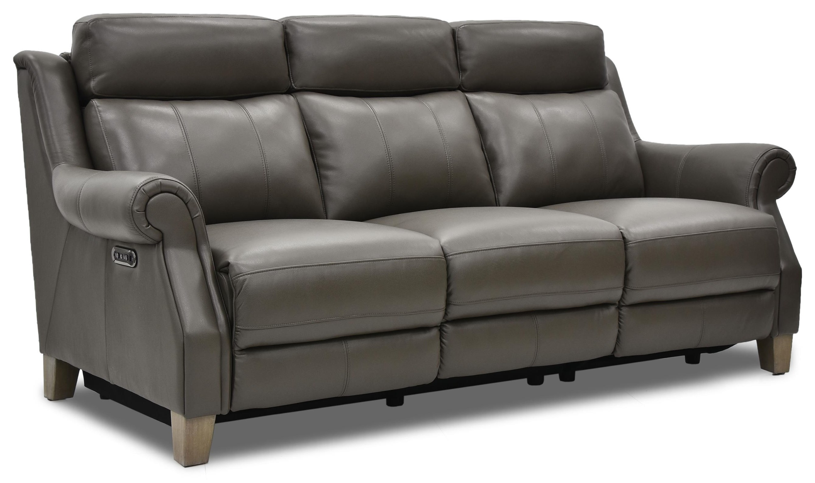 Via Power Reclining Leather Sofa at Rotmans