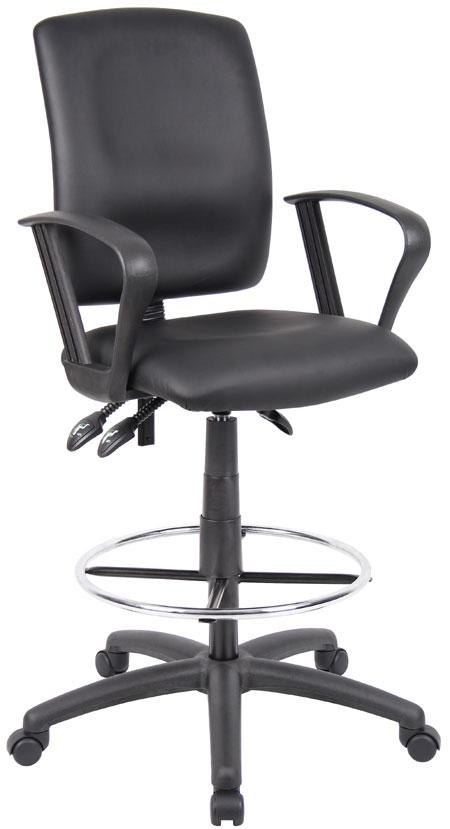Executive Chairs Multi-Function Drafting Stool by Presidential Seating at Westrich Furniture & Appliances