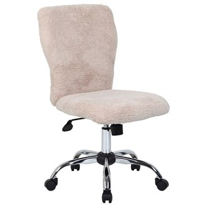 Tiffany Fur Make-up Office Chair