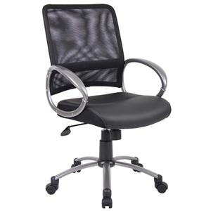 Presidential Seating Task Chairs Mesh LeatherPlus Task Chair