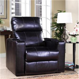 Theater Seating Power Recliner w/ Tray