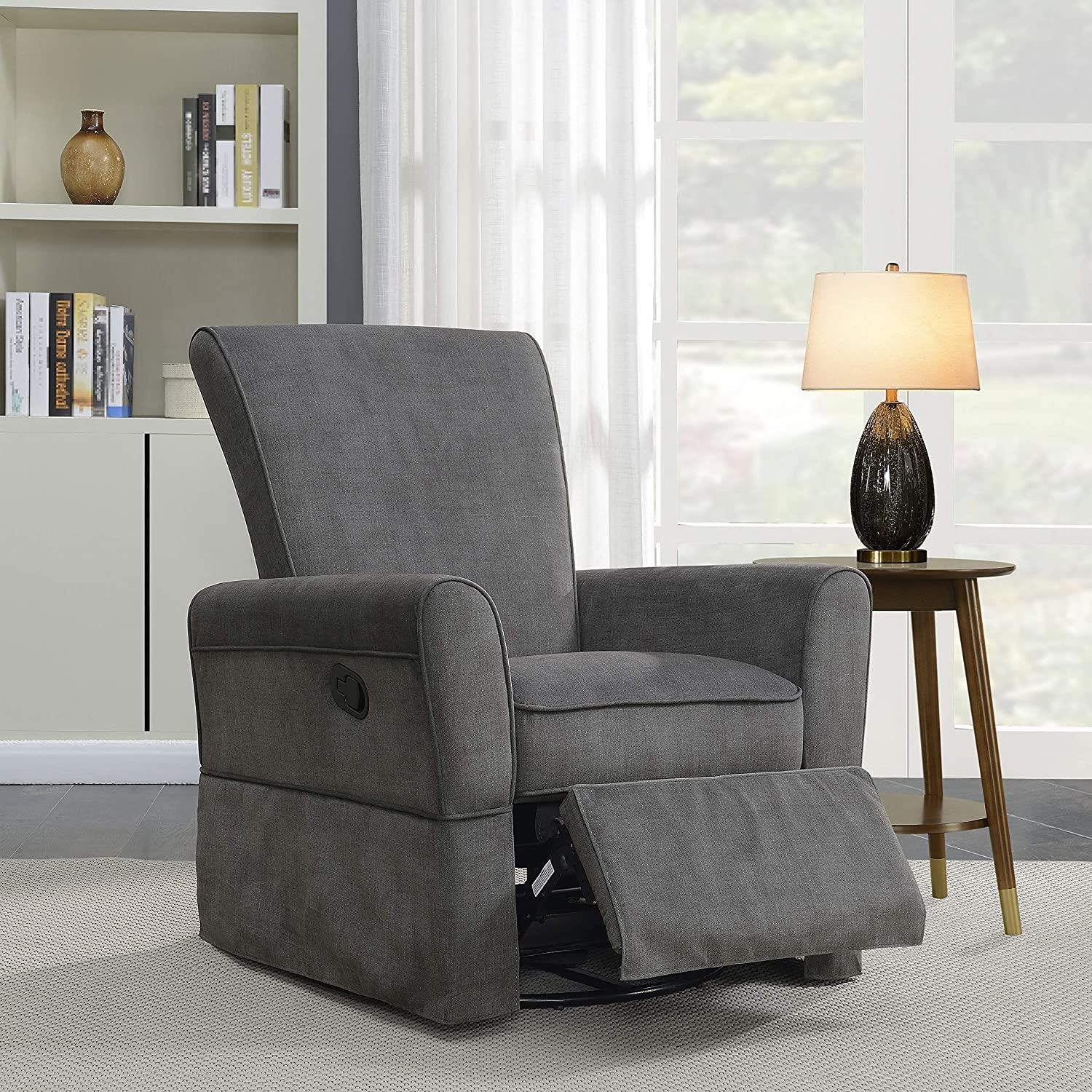 Bicknell Bicknell Swivel Glider Recliner by Prime Resources International at Morris Home