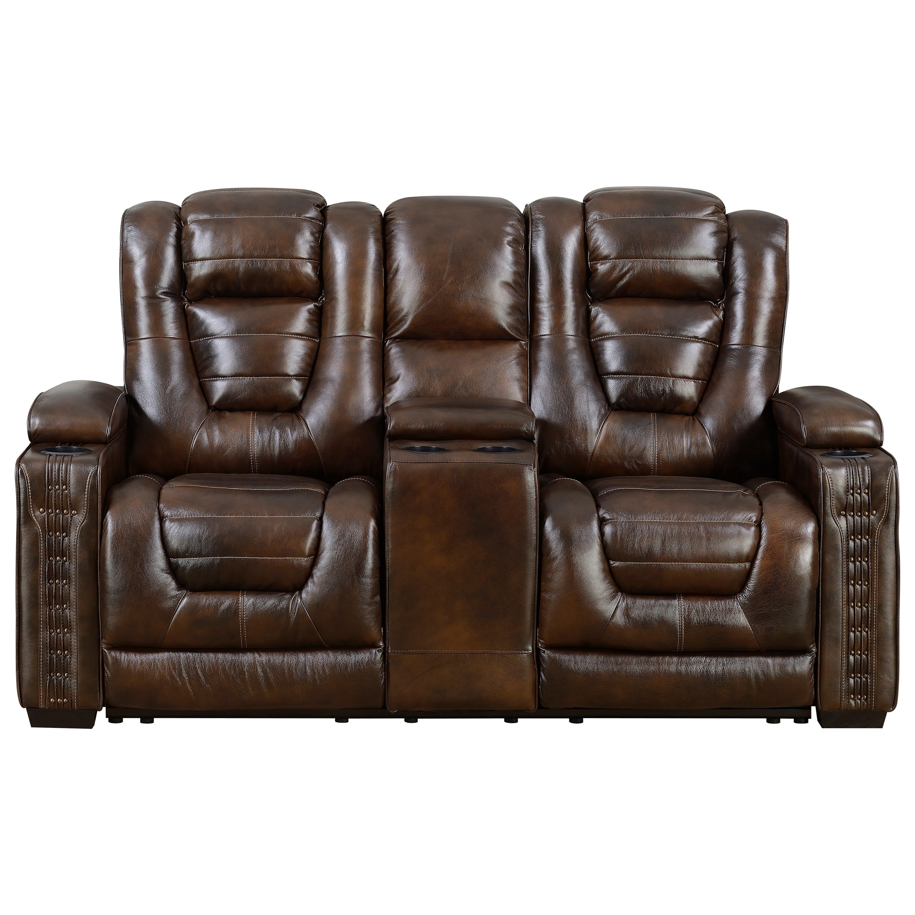 Big Chief Power Reclining Loveseat by Prime Resources International at Dream Home Interiors