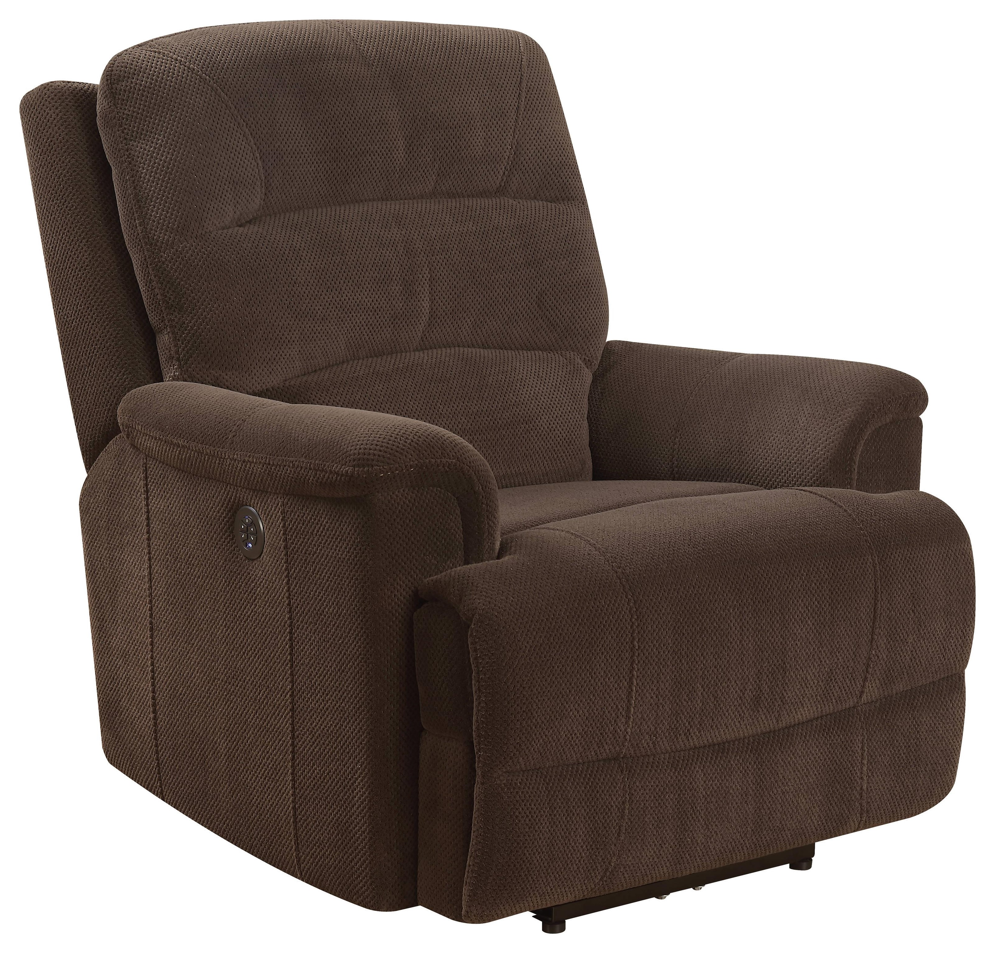 Nibley Nibley Power Recliner with Power Head Rest by Prime Resources International at Morris Home