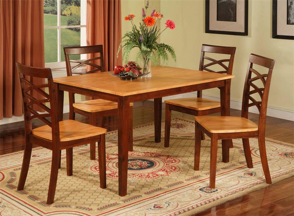 1552 Two Tone Table & Chairs by Primo International at Nassau Furniture and Mattress