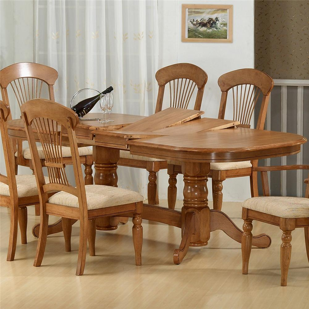 1855 Dining Table by Primo International at Nassau Furniture and Mattress