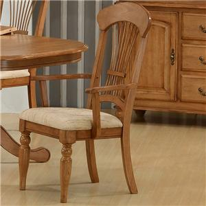 Primo International 1855 Arm Chair