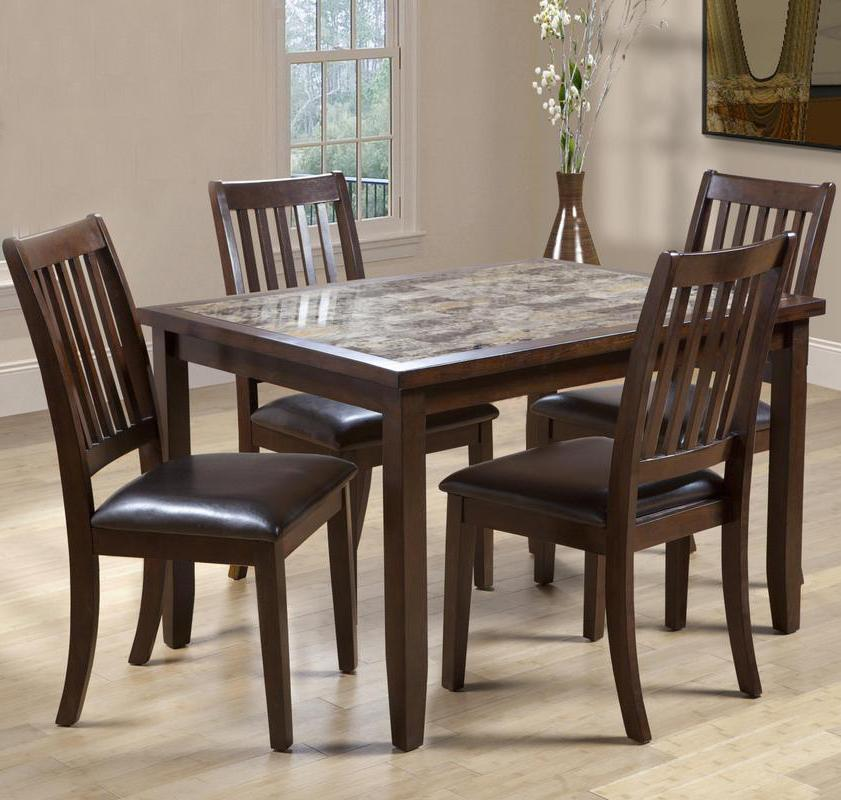 2096 5 Piece Table & Chair Set by Primo International at Nassau Furniture and Mattress