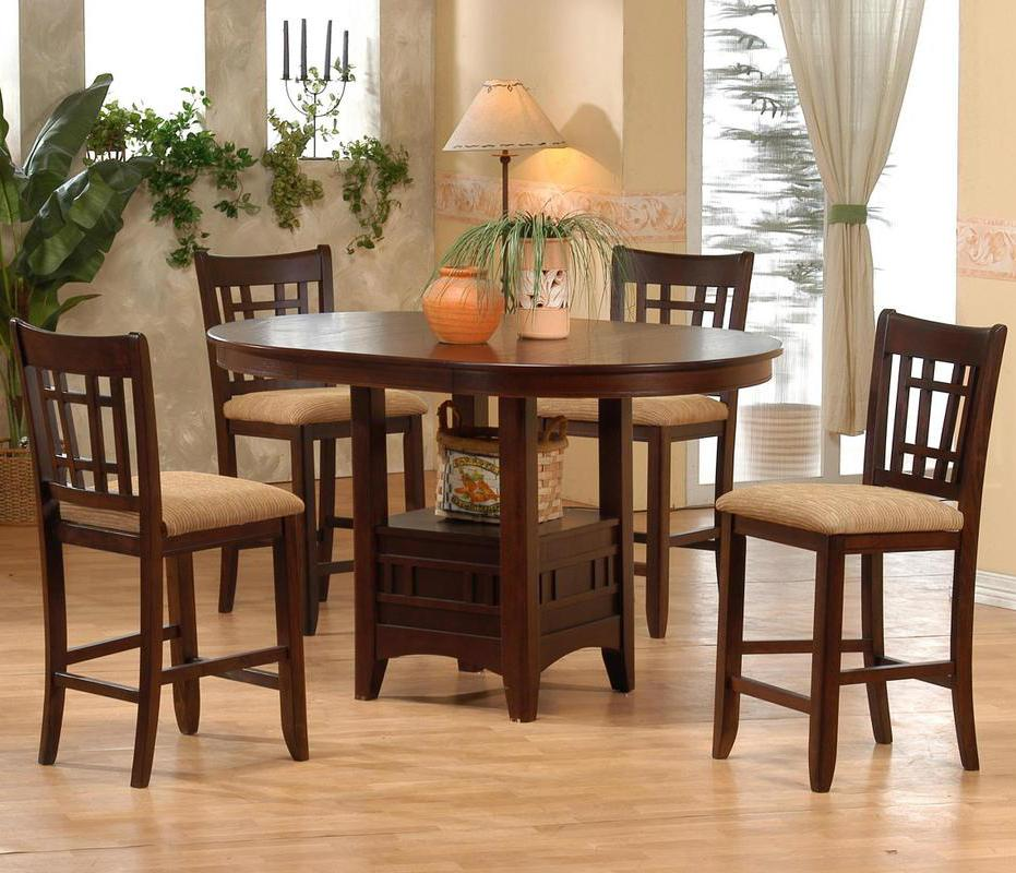 Counter Height Table and Pub Chair Set