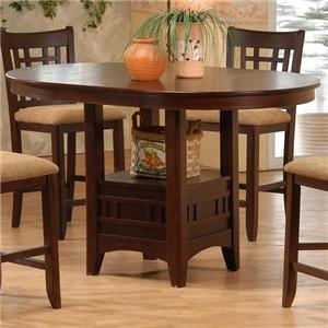 Primo International 4560 Counter Height Table