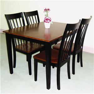 Five Piece Table & Chair Set