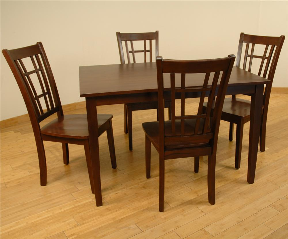 552 Table and 4 Chairs by Primo International at Nassau Furniture and Mattress