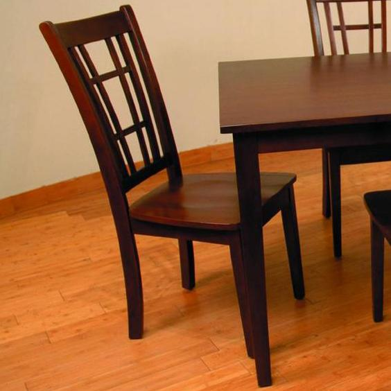 552 Slat Back Dining Chair by Primo International at Nassau Furniture and Mattress