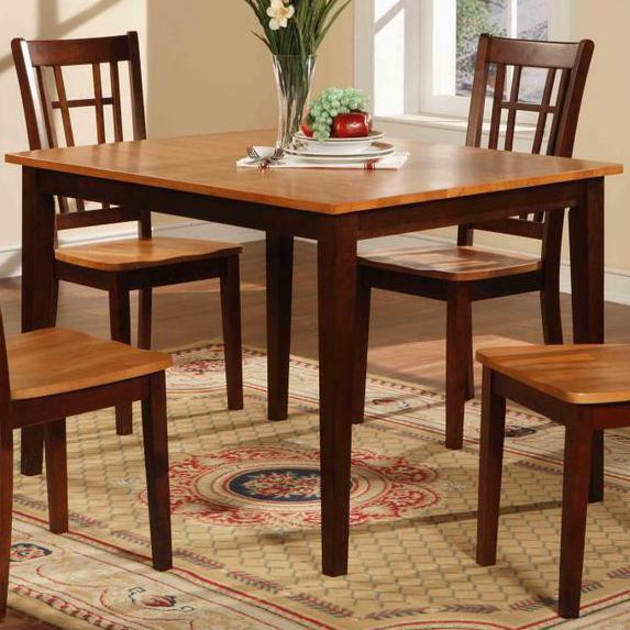 552 Rectangular Dining Table by Primo International at Corner Furniture