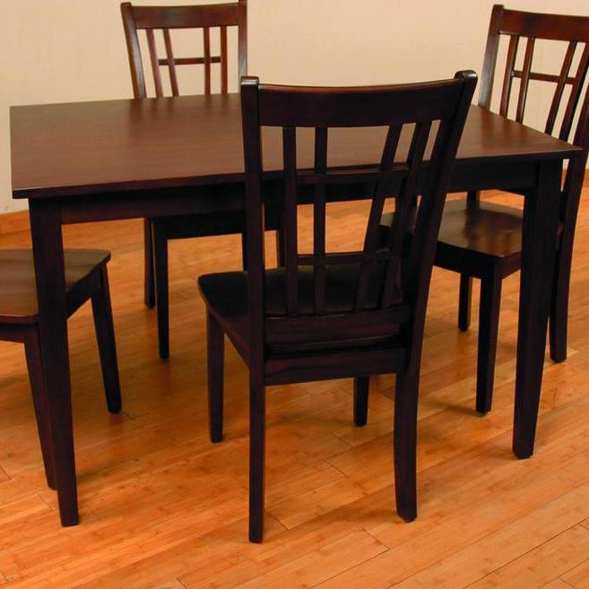 552 Rectangular Dining Table by Primo International at Nassau Furniture and Mattress
