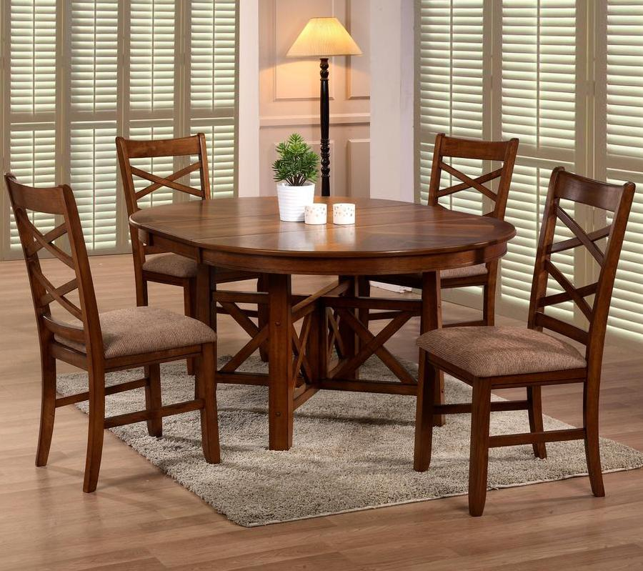 6506 5 Piece Table & Chair Set by Primo International at Beds N Stuff