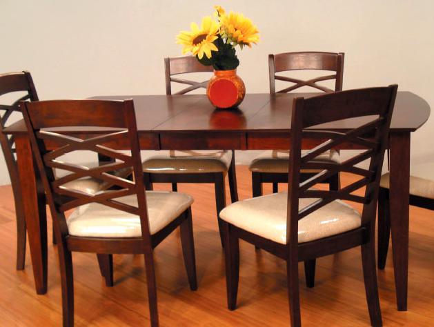 8209 Rectangular Leg Dining Table by Primo International at Corner Furniture