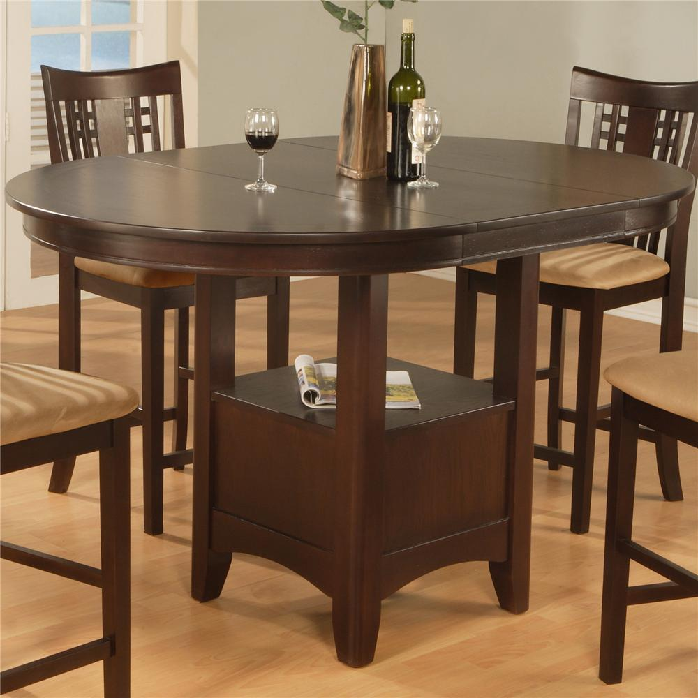 956 Counter Dining Table by Primo International at Nassau Furniture and Mattress