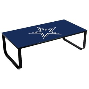 Coffee Table with Sports Team Logo