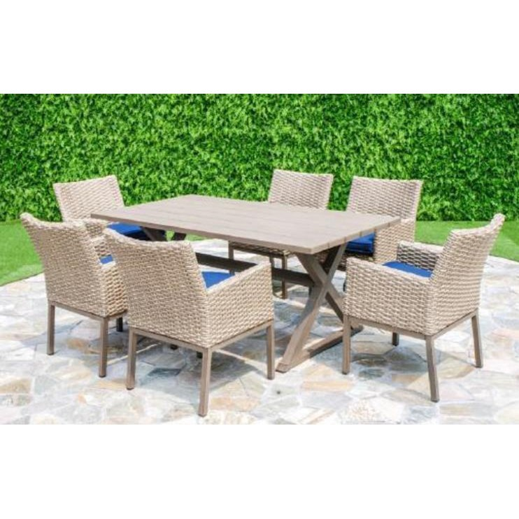 Belvedere Aluminum Dining Table by Primo International at Beds N Stuff