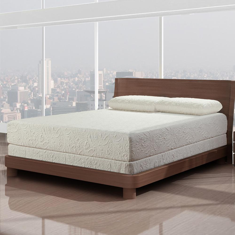 Cool Pedic Fresh Breeze King Memory Foam Mattress Set  by Primo International at Nassau Furniture and Mattress