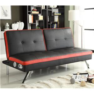 Sleek and Contemporary Beethoven Futon