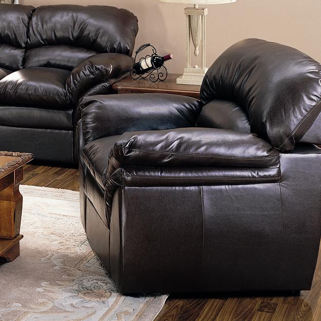 Liz Leather Chair by Primo International at Beds N Stuff