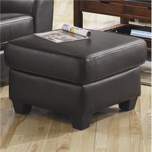 PU Leather Ottoman