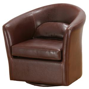 Contemporary Tub Chair with Matching Pillow
