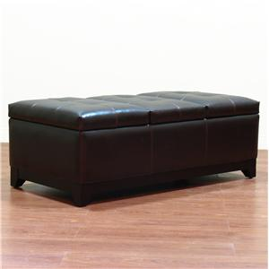 Ottoman With Storage and Tray Top