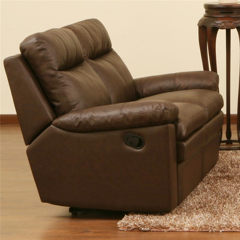 Ribbon Reclining Loveseat by Primo International at Beds N Stuff