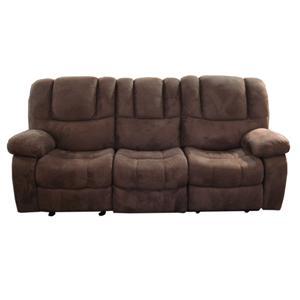 Tufted Reclining Sofa