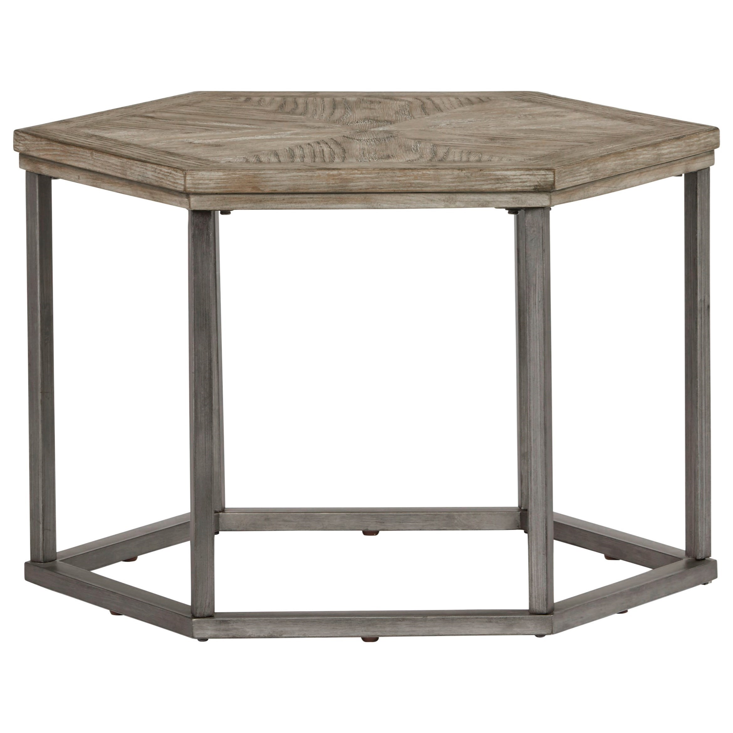 Adison Cove Hexagon Bunching Cocktail Table by Progressive Furniture at Catalog Outlet