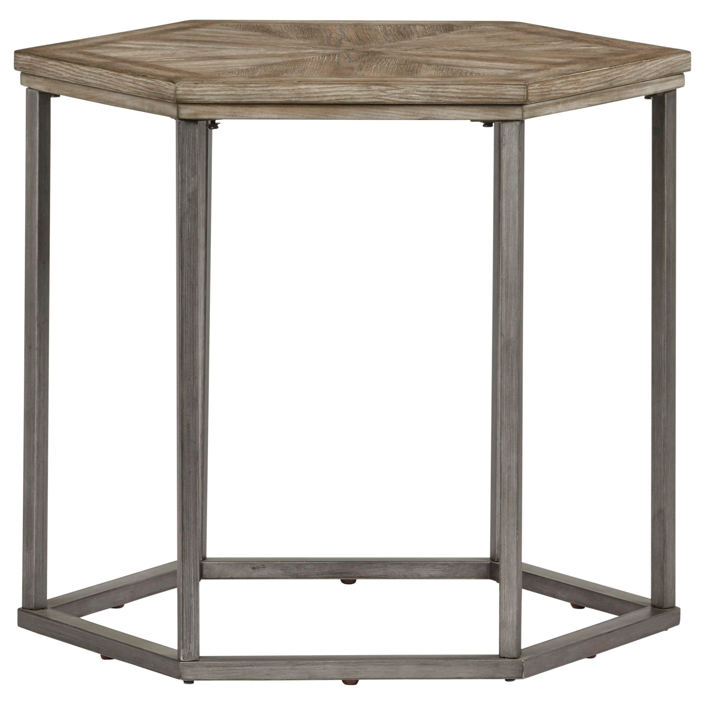 Adison Cove Hexagon End Table by Progressive Furniture at Simply Home by Lindy's