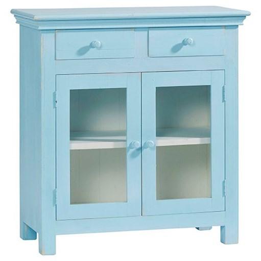 Agnes Curio Cabinet by Progressive Furniture at Carolina Direct
