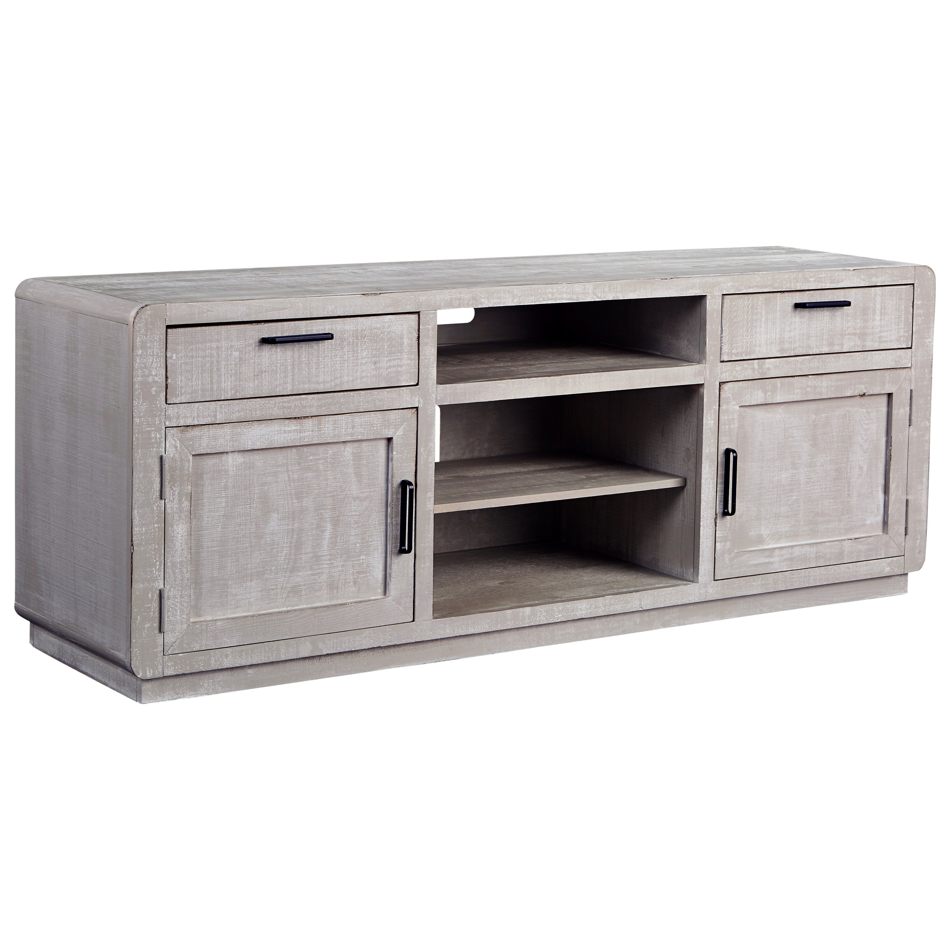 """Allure 74"""" Console by Progressive Furniture at Simply Home by Lindy's"""